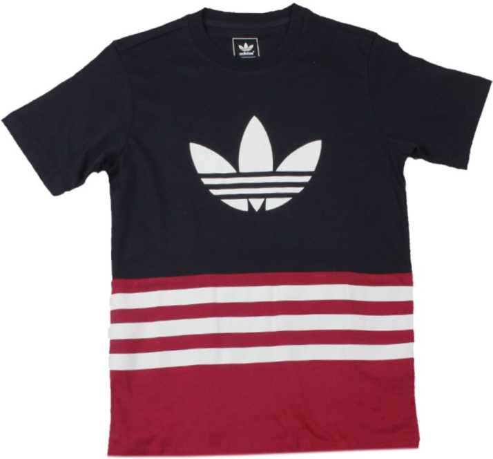 2e1ff172 ADIDAS Girls Printed Cotton T Shirt Price in India - Buy ADIDAS ...
