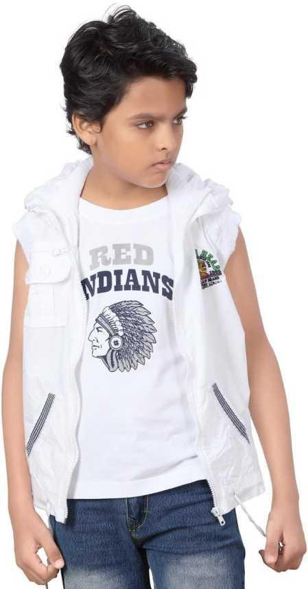 Pratha Junior Boys Casual T-shirt Jacket Price in India - Buy Pratha Junior Boys  Casual T-shirt Jacket online at Flipkart.com