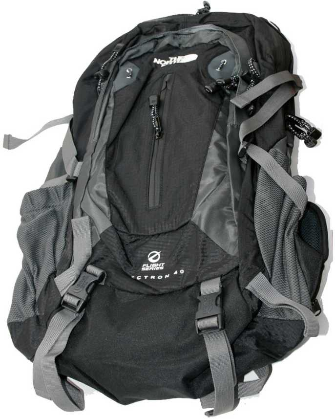 1b5c2c38b5 Adraxx The North Face 40 L Large Backpack Black - Price in India ...