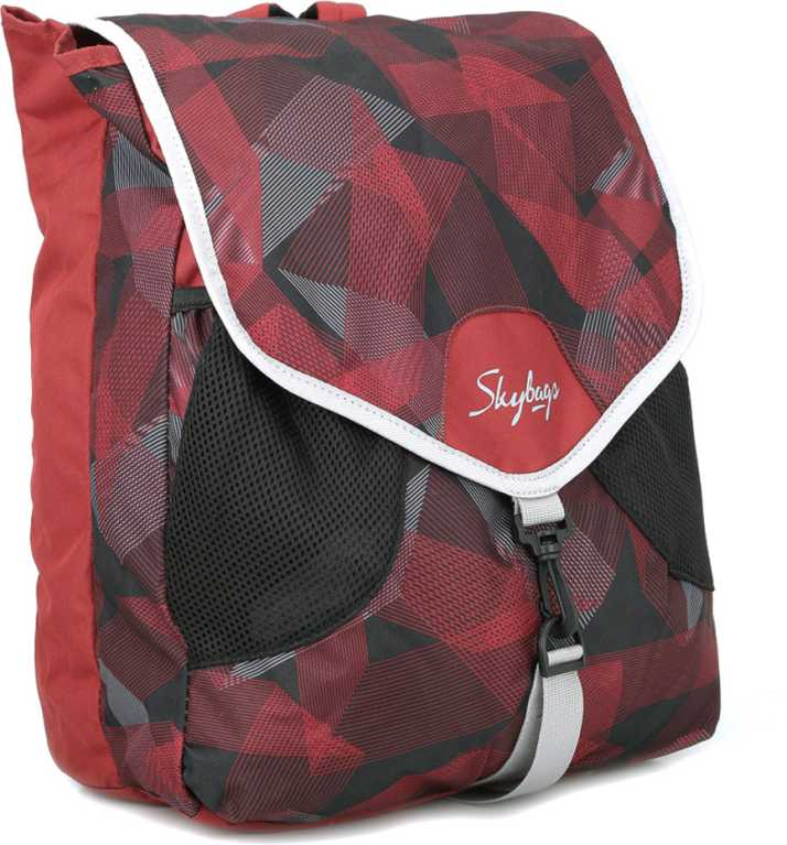 3cfd8ff7fa Skybags Surf 04 Backpack Red - Price in India