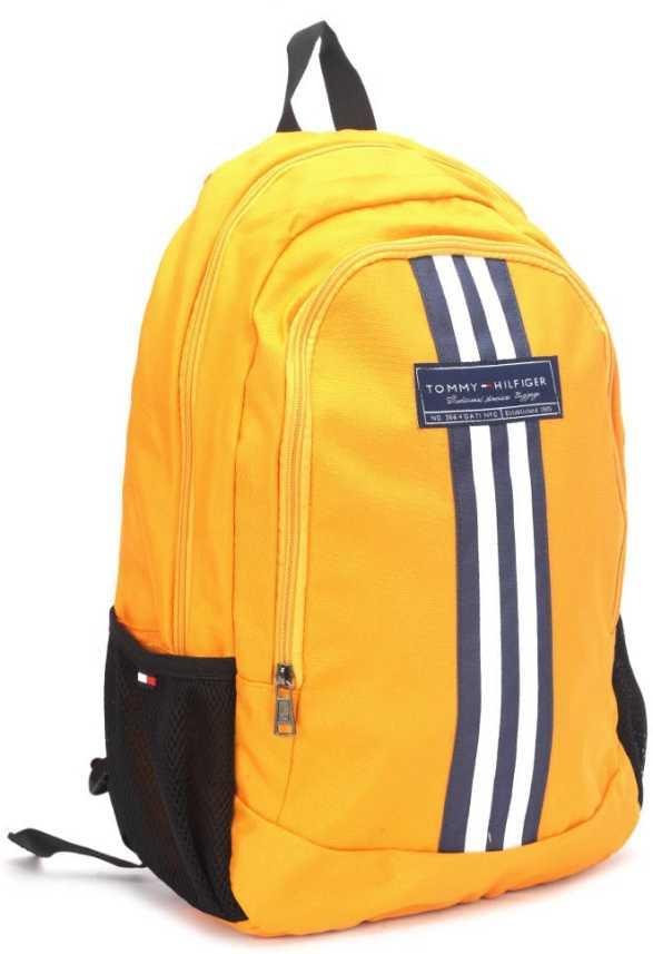 35818d73f0 Tommy Hilfiger BIKER CLUB-STAPLETON 45 Backpack Yellow - Price in India    Flipkart.com