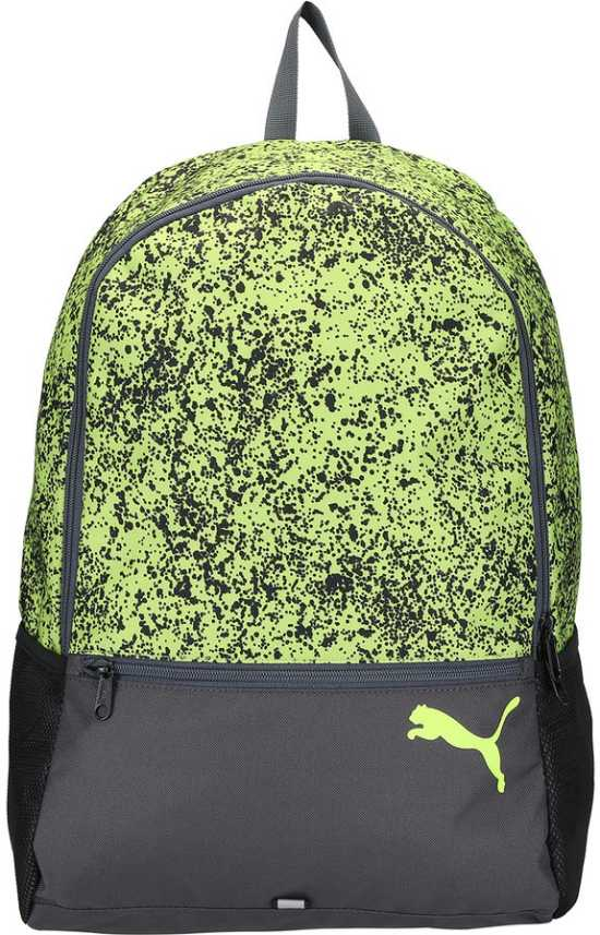 Anécdota Adepto desinfectar  Puma Alpha Backpack 15.9999999999999 L Laptop Backpack Safety  Yellow-speckle - Price in India   Flipkart.com