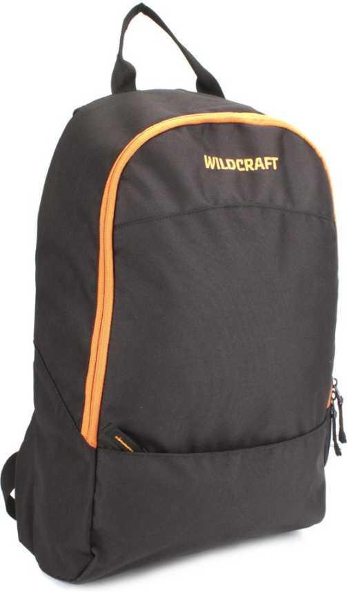 bd54ff12f9d Wildcraft Leap Black 30 L Backpack Black - Price in India | Flipkart.com