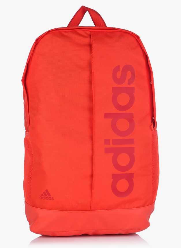 97317b9a64 ADIDAS Lin Per Bp 20 L Backpack Orange-03 - Price in India ...