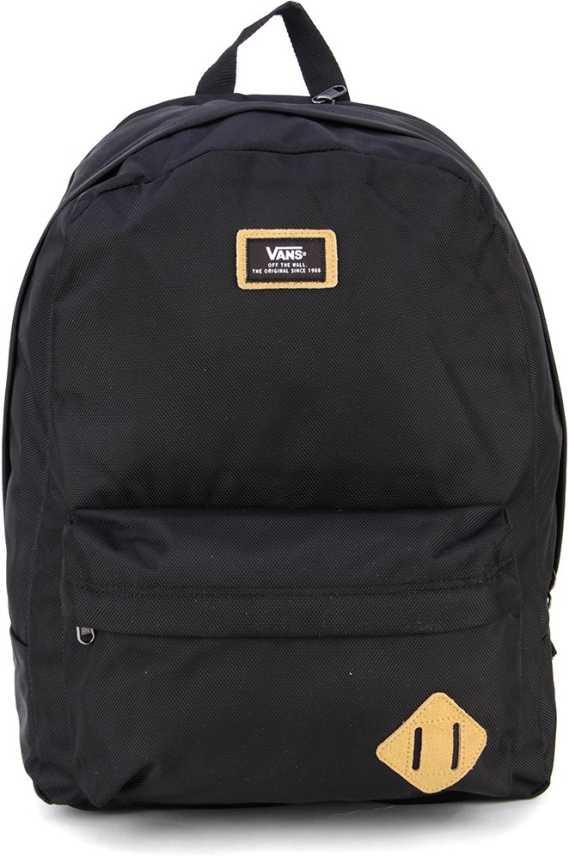 0dc29965ac16f9 Vans OLD SKOOL PLUS Backpack Real Black - Price in India