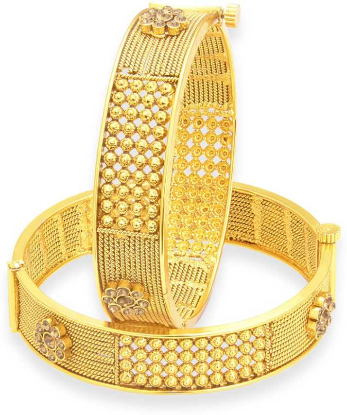 a840844230e Sukkhi Alloy Gold-plated Bangle Set Price in India - Buy Sukkhi ...