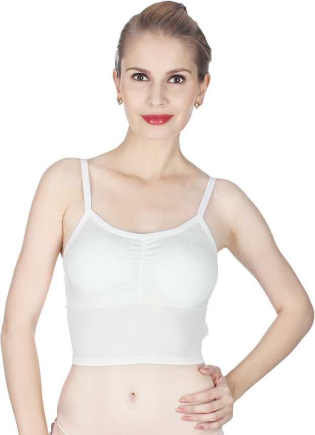 3661f47d710 Glus byGlupick Women s Bralette Lightly Padded Bra - Buy White Glus ...