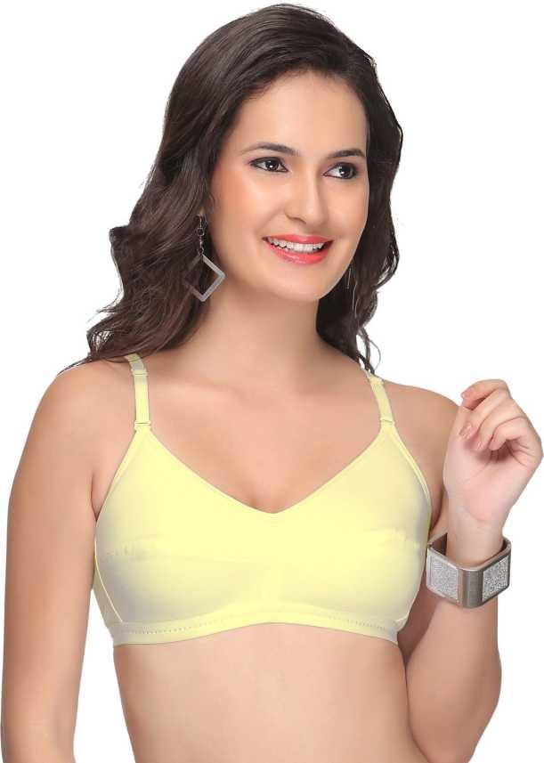 6f62a40b8f Alishan Fashionable Women s Full Coverage Non Padded Bra - Buy Skin ...