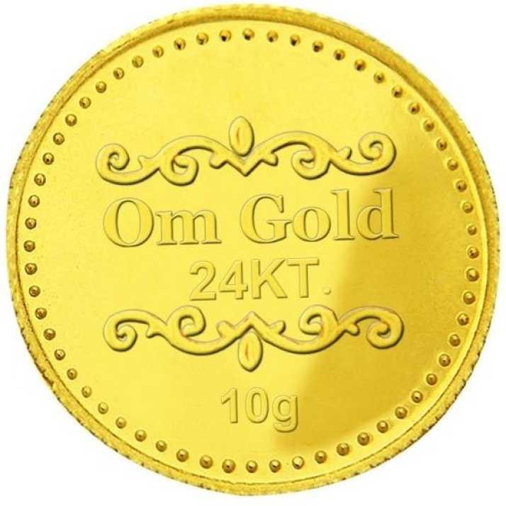 Om Gold 10 Gram 24 999 K G