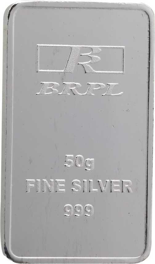 Bangalore Refinery Brpl 50 Gram Silver
