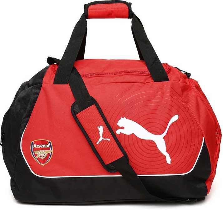 Puma 12 Inch 30 Cm Nal Travel Duffel Bag Red Price In India Flipkart