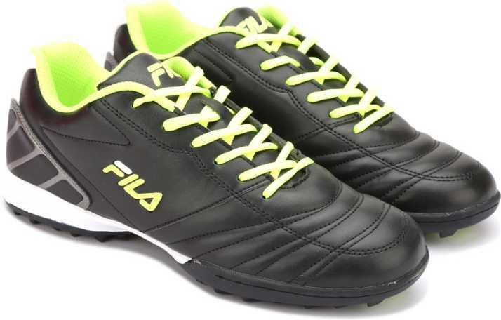 1ac354b09c8 Fila Football Shoes For Men - Buy BLK NEO GRN Color Fila Football ...