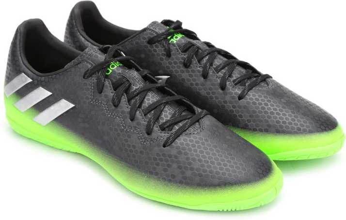 sólido llamar transmisión  ADIDAS Messi 16.4 In Football Shoes For Men - Buy DKGREY/SILVMT/SGREEN  Color ADIDAS Messi 16.4 In Football Shoes For Men Online at Best Price -  Shop Online for Footwears in India | Flipkart.com