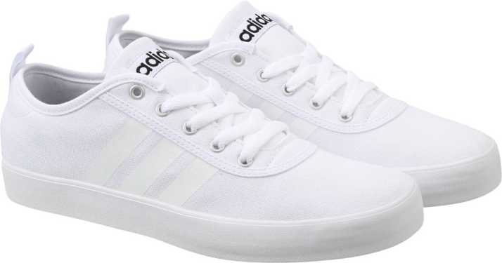 ADIDAS NEO Men White Solid Neosole Sneakers