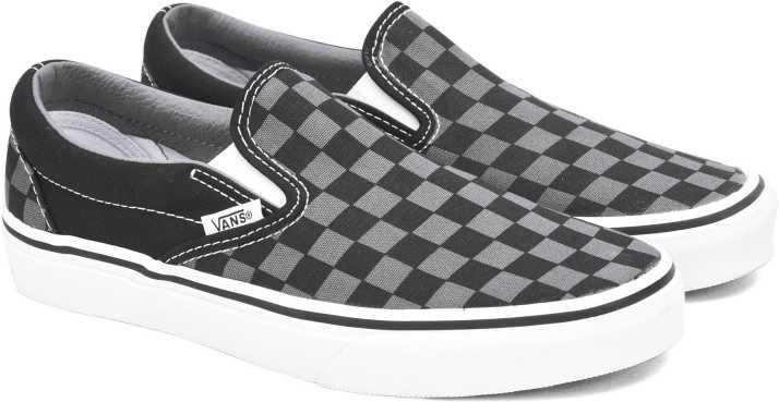 496a5b9cbcdb Vans CLASSIC SLIP-ON Men Loafers For Men - Buy (Checkerboard) black ...