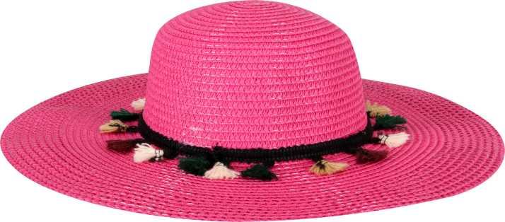 90b978a1d01e5 FabSeasons Long Brim Beige Beach and Sun Hat for Women   Girls Cap - Buy  FabSeasons Long Brim Beige Beach and Sun Hat for Women   Girls Cap Online at  Best ...