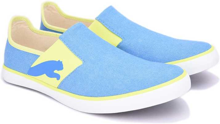 33144a08595489 Puma Lazy Slip On II DP Sneakers For Men - Buy French Blue-Safety ...