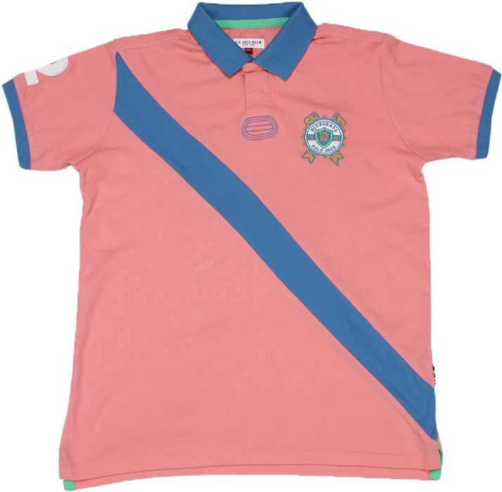 41ddb4b5 US Polo Kids Boys Solid Cotton T Shirt Price in India - Buy US Polo ...