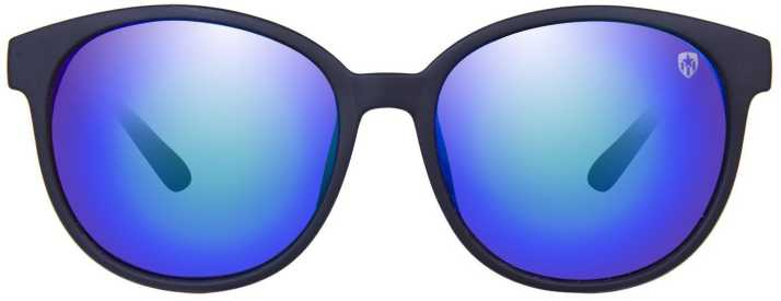 295ab80173 Buy TOM MARTIN Round Sunglasses Blue For Men   Women Online   Best Prices  in India