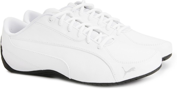 puma drift cat 5 white