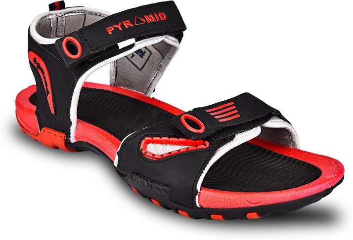 Rupani Men Black Sandals - Buy Rupani