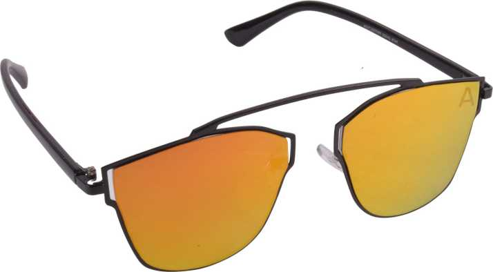 eea71f593c Buy Criba Retro Square Sunglasses Yellow For Men   Women Online   Best  Prices in India