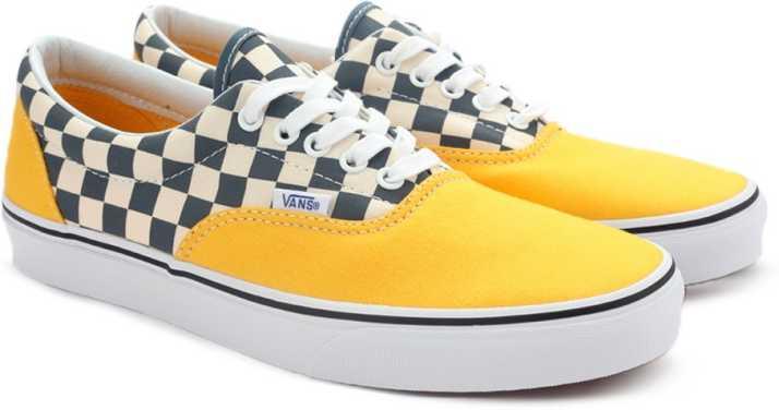 Vans ERA Sneakers For Men - Buy (2-TONE CHECK) CITRUS TRUE WHITE ... 644848657