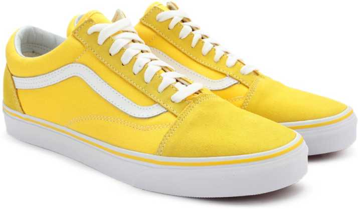 14f38eb773c Vans OLD SKOOL Sneakers For Men - Buy (SUEDE CANVAS) SPECTRA YELLOW ...