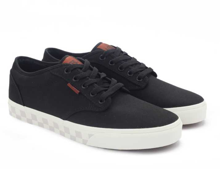 Vans ATWOOD Sneakers For Men - Buy (CHECK FOX) BLACK Color Vans ... 23511a154