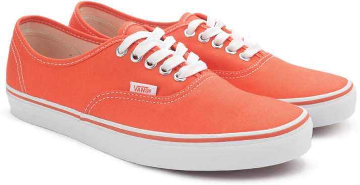 a8663c57af Vans AUTHENTIC Sneakers For Men - Buy (CANVAS) CHERRY TOMATO TRUE ...