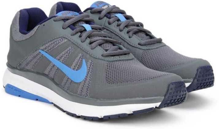 ab25cc63e3b Nike DART 12 MSL Running Shoes For Men - Buy DARK GREY PHOTO BLUE ...
