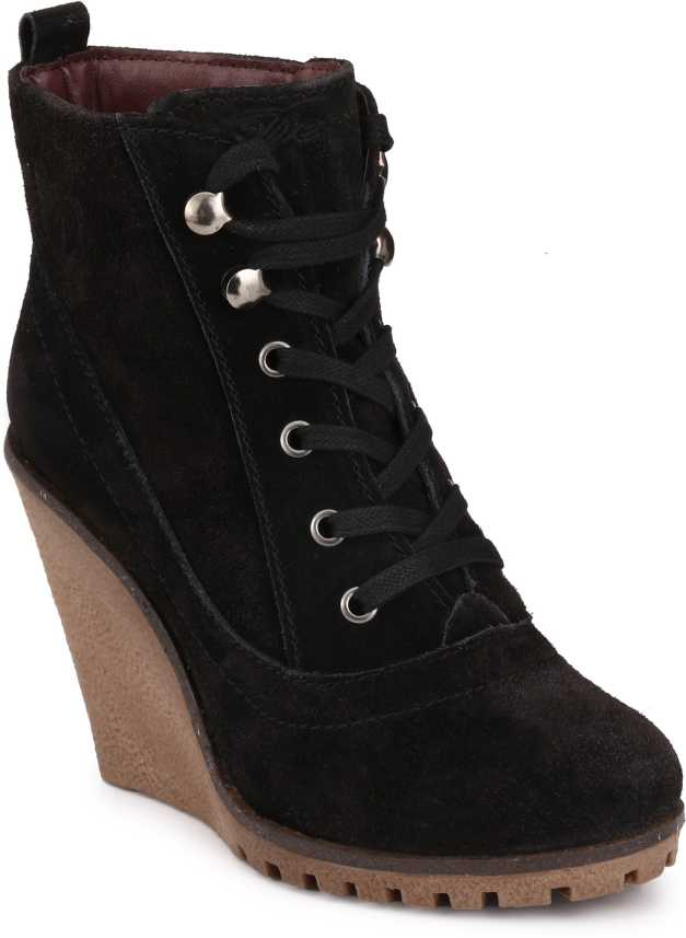 9fbbb58b961 Delize Synthetic Boots For Women - Buy TBlack Color Delize Synthetic ...