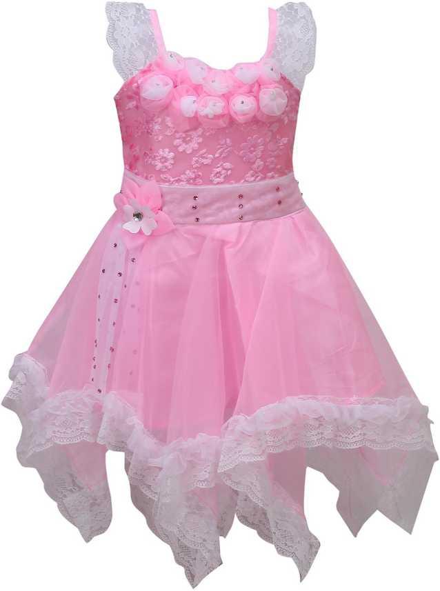 Wishkaro Girls Midi Knee Length Casual Dress Price In India Buy Wishkaro Girls Midi Knee Length Casual Dress Online At Flipkart Com