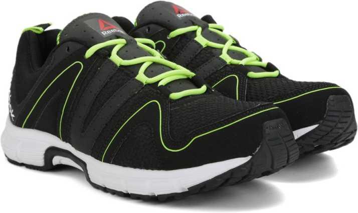 882bcad96e7460 REEBOK PERFORMANCE RUN Running Shoes For Men - Buy BLACK NEON YELLOW ...