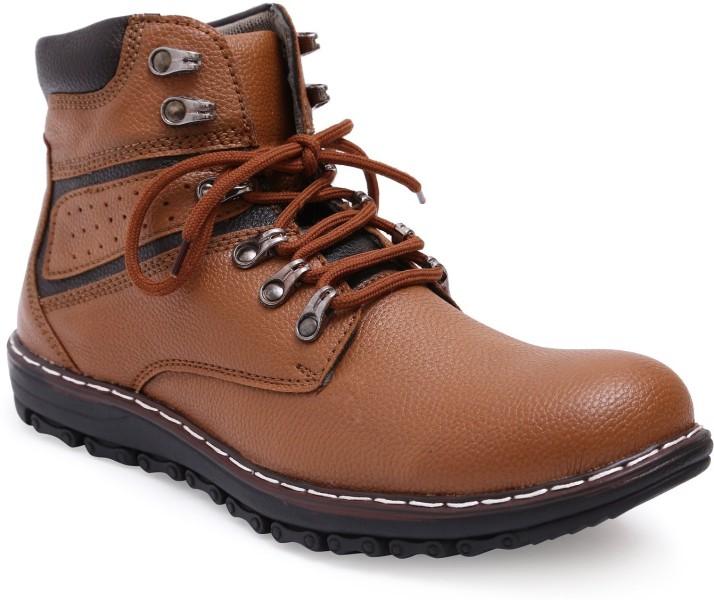 St. Martin Boots For Men - Buy Orange