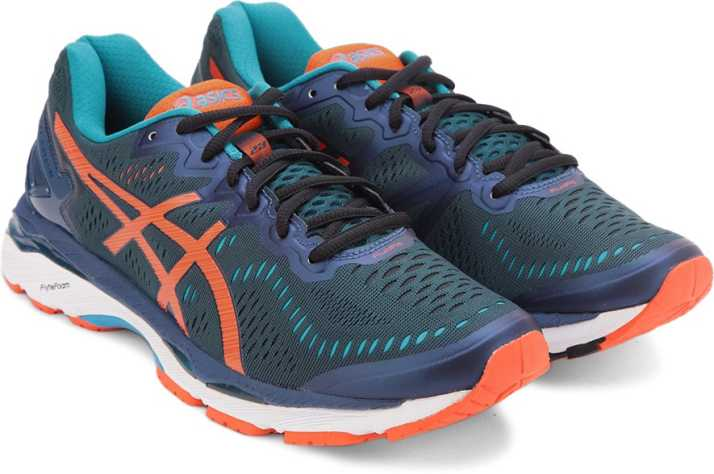 1f57e69499a1dc Asics GEL-KAYANO 23 Running Shoe For Men - Buy PD/FM ORNG/BL JL ...