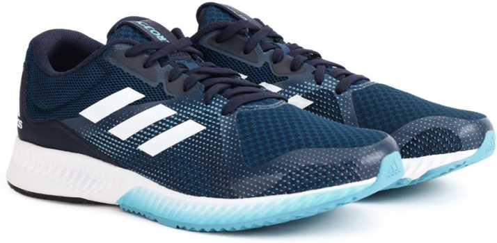 6142f8ac7a2c ADIDAS AEROBOUNCE RACER M Running Shoes For Men - Buy BLUNIT FTWWHT ...