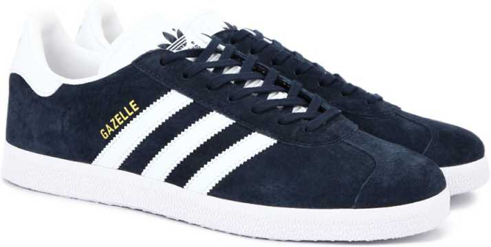 edf5d1baa85 ADIDAS ORIGINALS GAZELLE Sneakers For Men - Buy CONAVY/WHITE/GOLDMT ...
