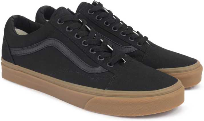 177ad1556cf2 Vans OLD SKOOL Sneakers For Men - Buy (CANVAS GUM) BLACK LIGHT GUM ...