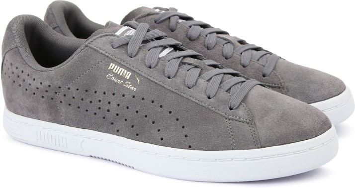 Puma Court Star Suede Sneakers For Men - Buy QUIET SHADE Color