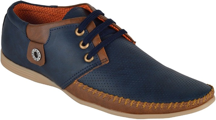 Shoes Bank Sneakers For Men - Buy Blue