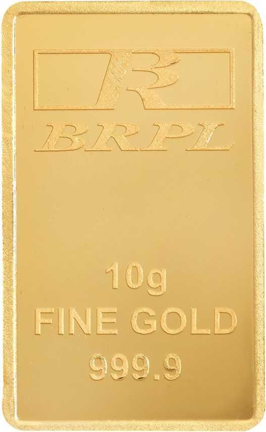 Bangalore Refinery Brpl Purity Bar 24 9999 K 10 G Gold Bar Price In India Buy Bangalore Refinery Brpl Purity Bar 24 9999 K 10 G Gold Bar Online At Best Prices In India Flipkart Com