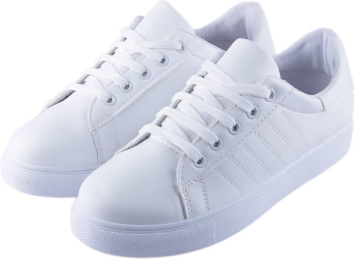 Outdoor Shoe,White Sneaker Shoe, White