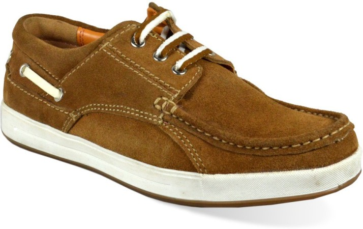 Red Chief Tan Casual Shoes For Men