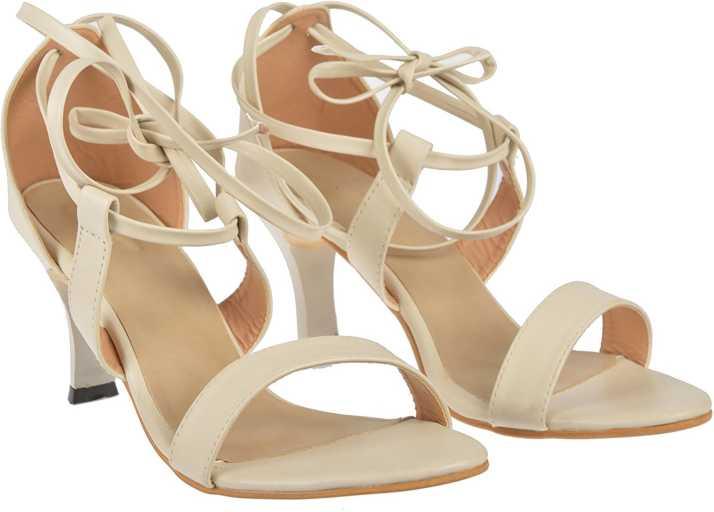 7e025f365564 Jade Women Beige Heels - Buy Jade Women Beige Heels Online at Best Price - Shop  Online for Footwears in India