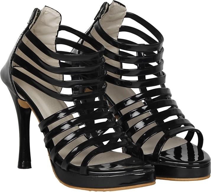 misto Women Black Heels - Buy misto