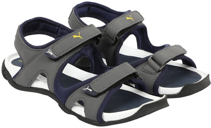Buy Puma Men Blue Sandals Online