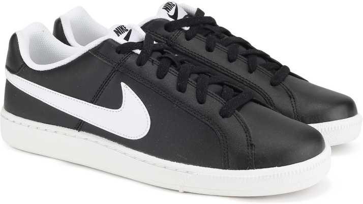 164e2d16b9 Nike COURT ROYALE Sneakers For Men - Buy BLACK WHITE NOIR BLANC ...