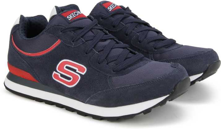 a3a9c73e1bcf Skechers Sneakers For Men - Buy NAVY RED Color Skechers Sneakers For ...