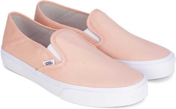 4384589da9 Vans SLIP-ON SF Slip on Sneakers For Women - Buy Peach Color Vans ...